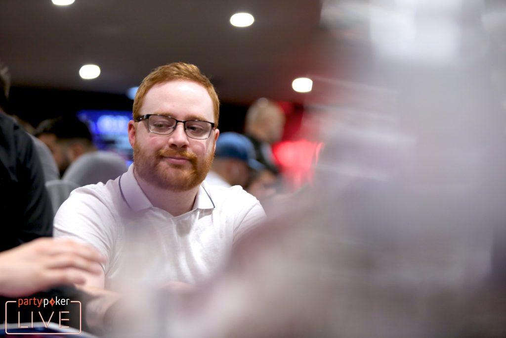Niall Farrell (photo: Mickey May/partypoker)