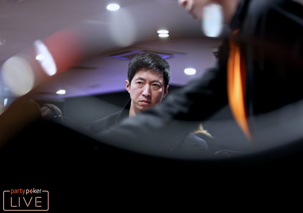 Weijie 'Jervi' Zheng (photo: Mickey May/partypoker)