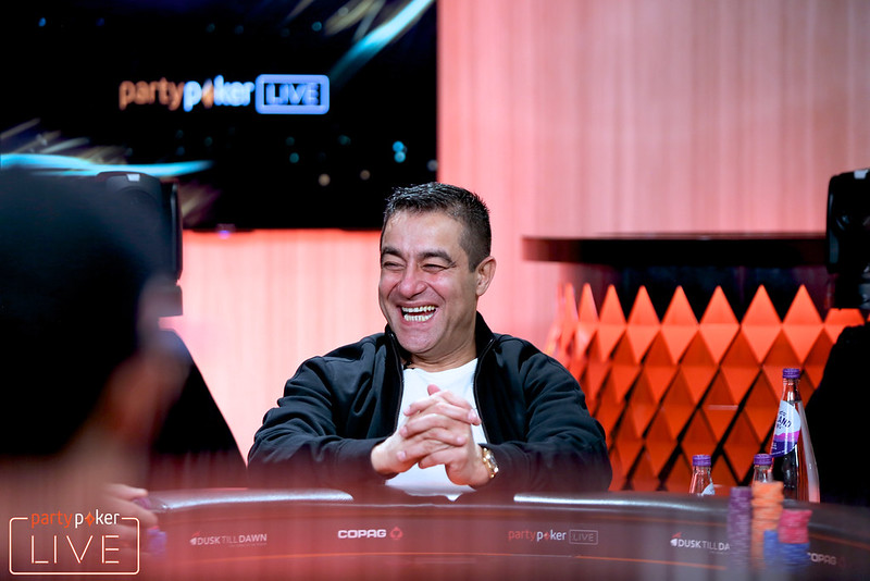 Hossein Ensan (photo: Mickey May/partypoker)