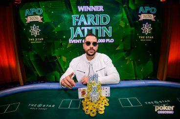 Farid Jattin Dominates Australian Poker Open $25k PLO Final Table - Andras Nemeth Grabs Championship Lead