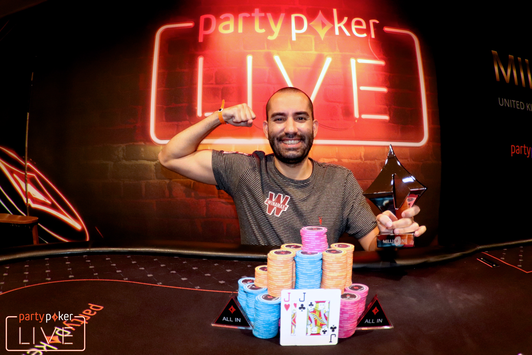 Joao Vieira (photo: Mickey May/partypoker)