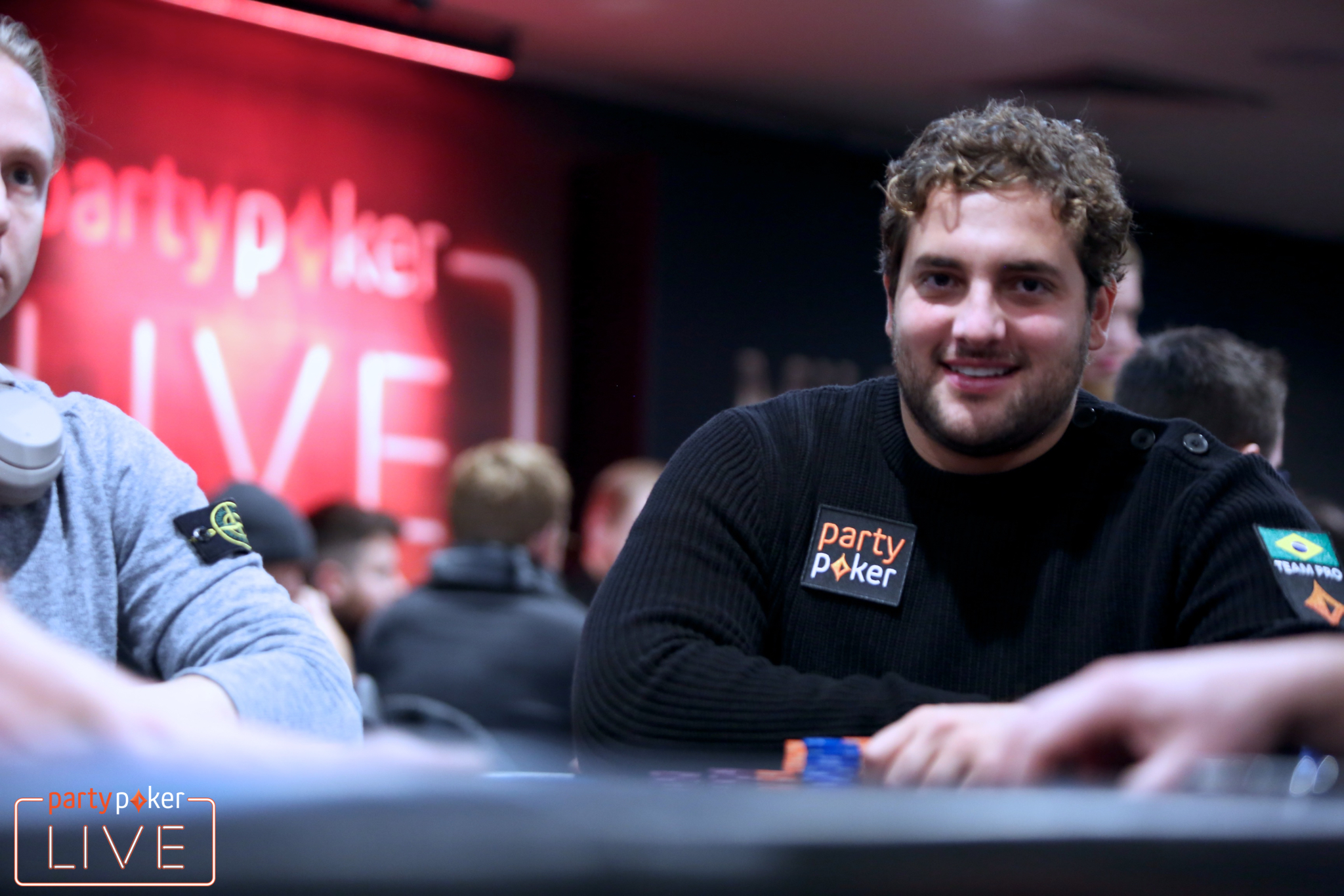 Joao Simao (photo: Mickey May/partypoker)