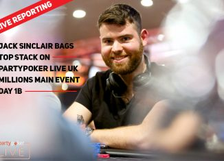 Jack Sinclair (photo: Mickey May/partypoker)