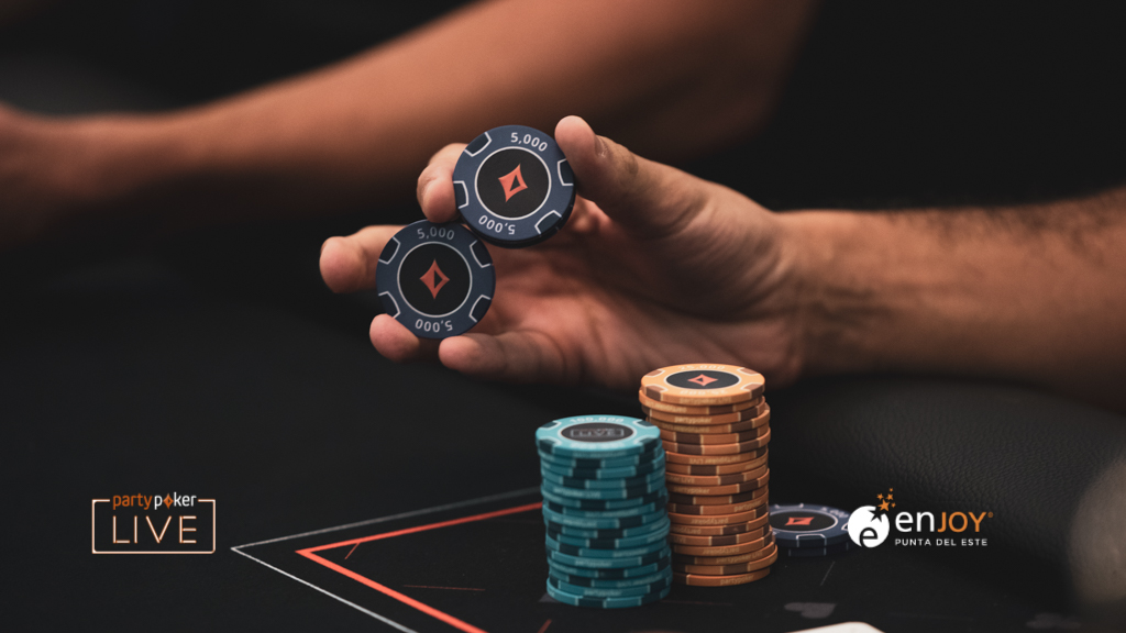 partypoker MILLIONS South America chips