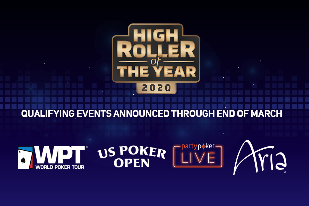 High roller of the year events