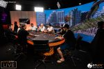 partypoker MILLIONS South America Main Event Day 3 tv table with Marty Mathis