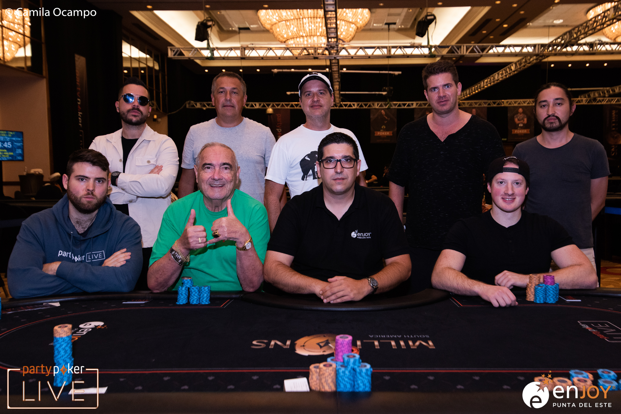 partypoker MILLIONS South America $10,300 High Roller Finale final table