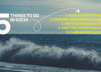 Five Things to do in Sochi