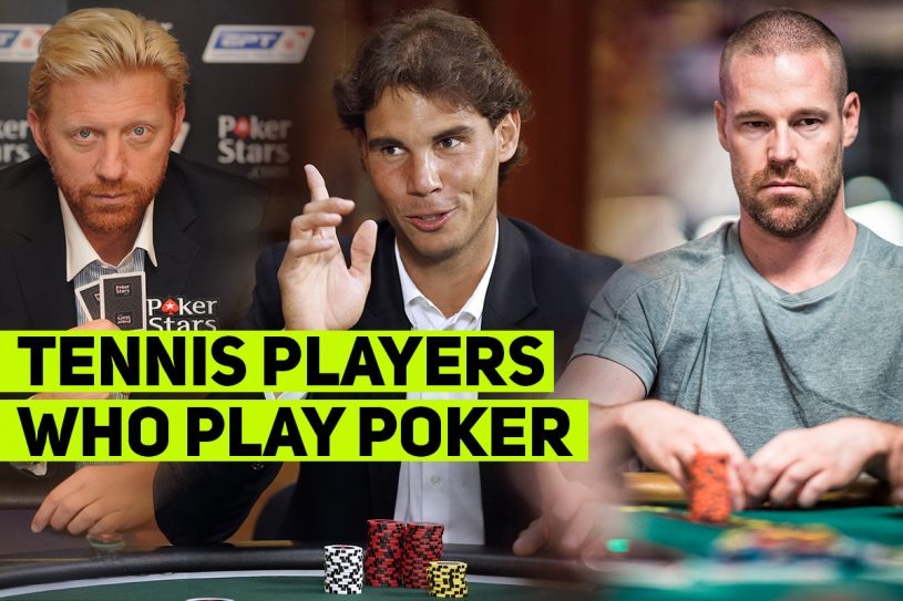 tennis players poker