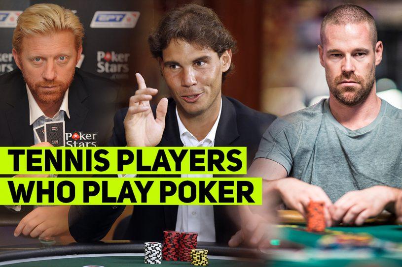 tennis players poker