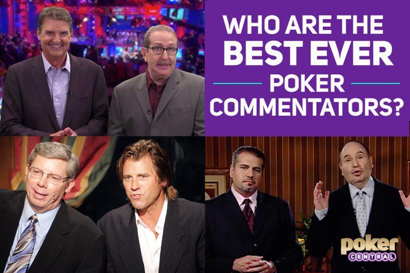 best poker commentators