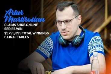Artur Martirosian Pulls Off Major Upset and Wins SHRB Online Series!
