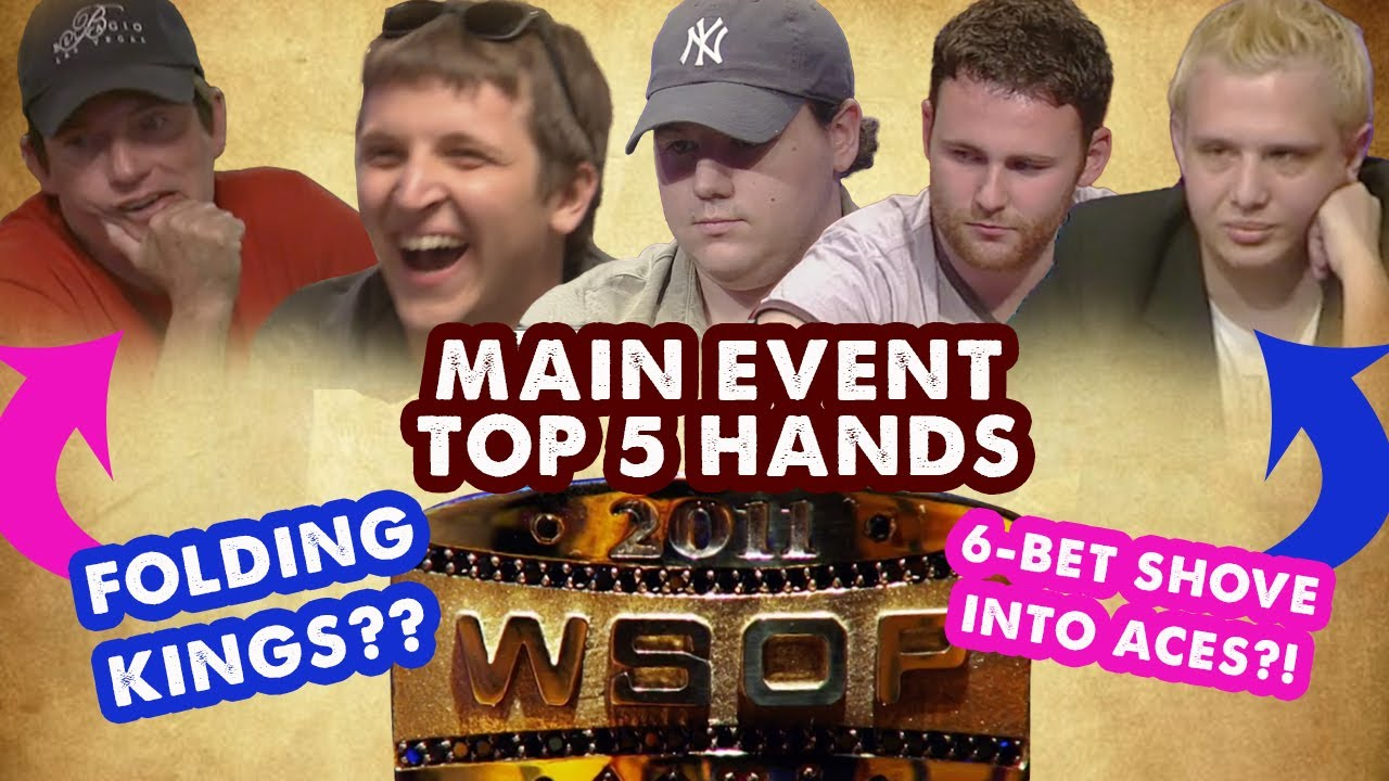 Watch the Top 5 Hands from the 2011 WSOP Main Event Now