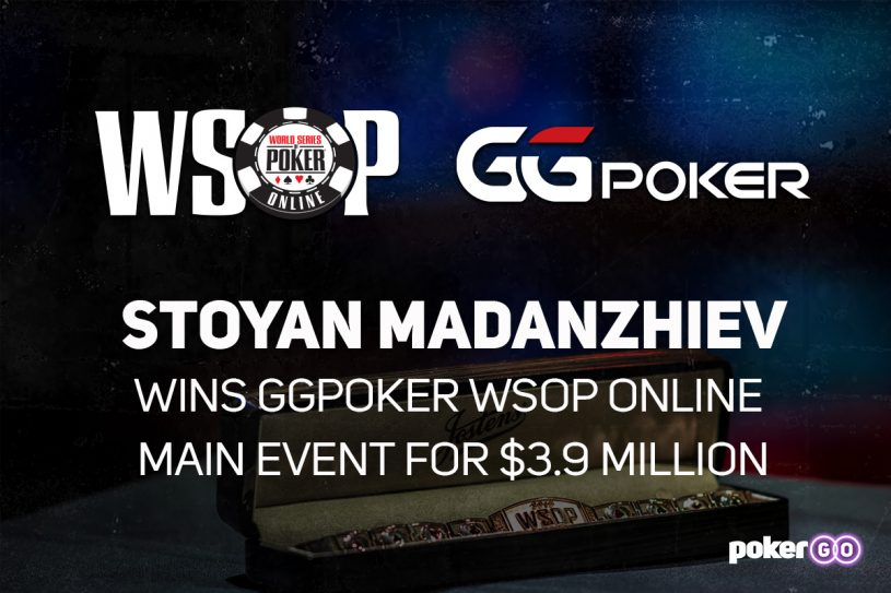 Stoyan Madanzhiev Takes Down 2020 WSOP Main Event For $3.9m