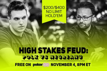 Daniel Negreanu and Doug Polk Face-Off on High Stakes Feud!