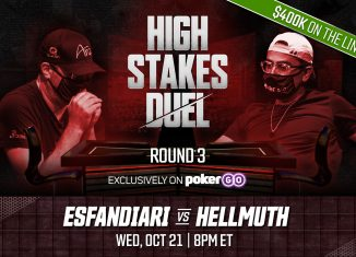 High Stakes Duel | Round 3 with Phil Hellmuth and Antonio Esfandiari