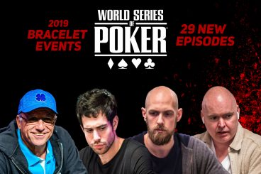 2019 WSOP Bracelet Event Episodes Now Available on PokerGO