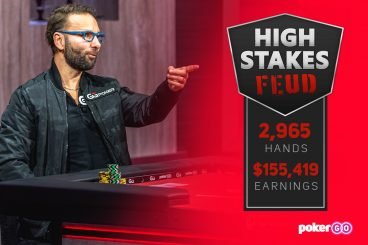 Daniel Negreanu Leads Doug Polk by $155,419 After 2,965 Hands in High Stakes Feud