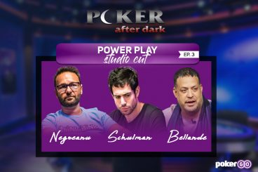 Poker After Dark Power Play Studio Cut Episode 3 on Tonight at 8 p.m. ET