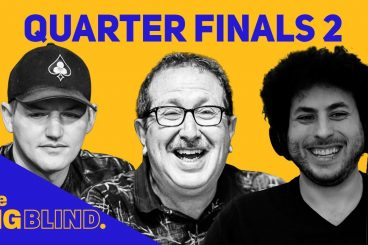 Rewatch Quarterfinals - Game 2 of The Big Blind on YouTube and Facebook