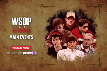 WSOP Collection Expands with 17 WSOP Classic Main Event Episodes Added to PokerGO