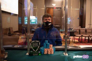 Chad Eveslage Wins $25K High Roller for $767,576
