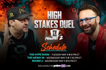 Round 2 of High Stakes Duel II Schedule - 3 Different Shows Over 2 Nights