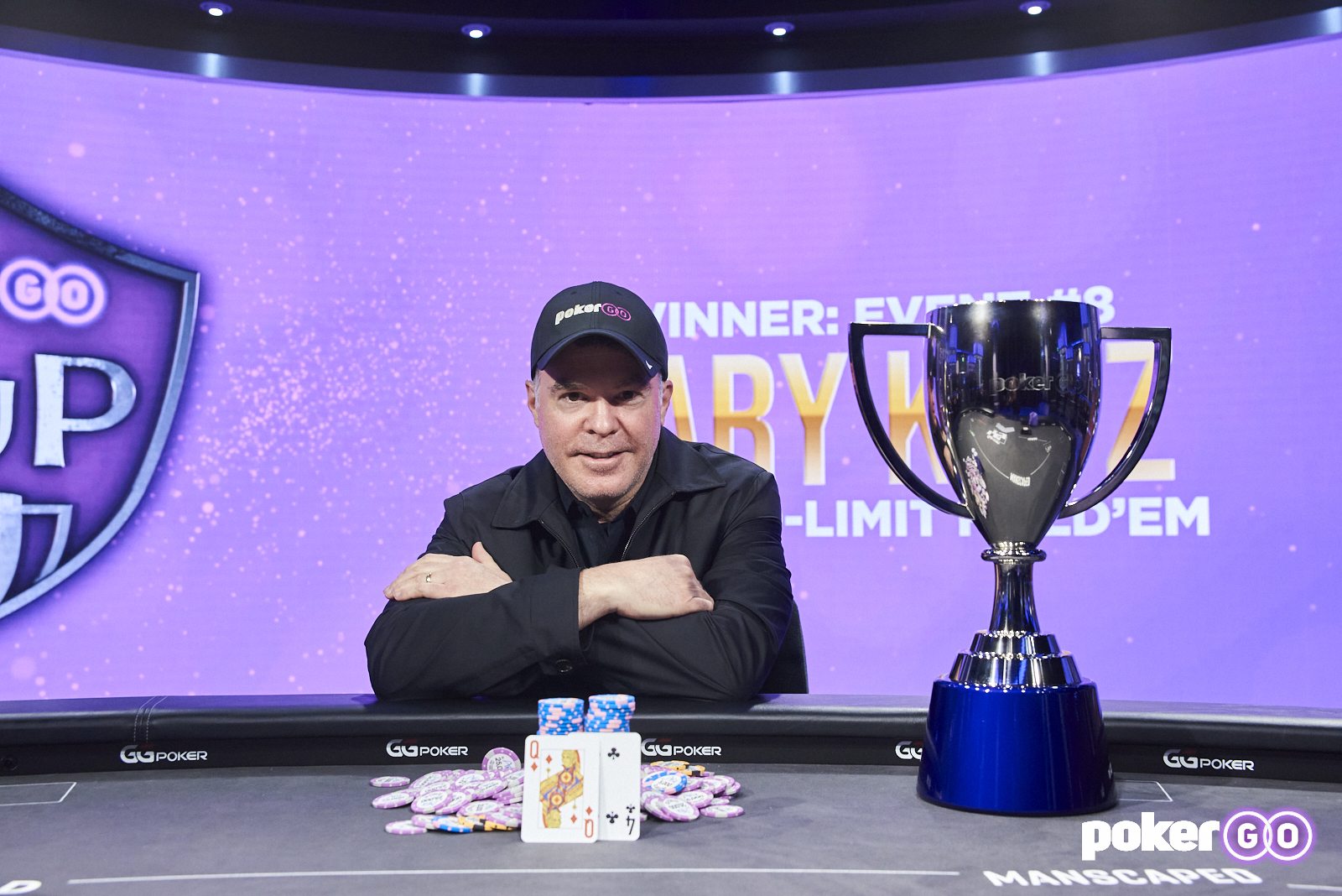 Cary Katz Wins Final Event of 2021 PokerGO Cup