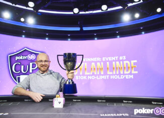 Dylan Linde wins the third event of the 2021 PokerGO Cup