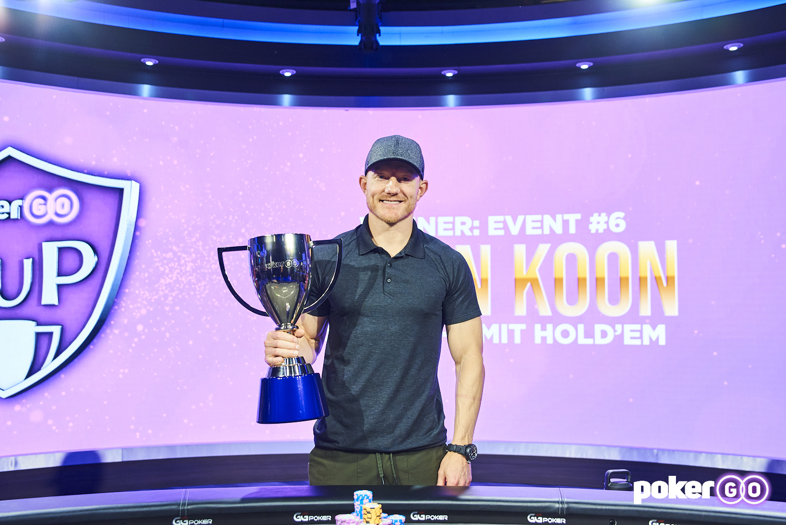 Jason Koon wins Event #6 at the 2021 PokerGO Cup
