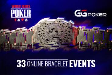 GGPoker WSOP Online Starts July 26 with 33 Bracelet Events