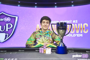 Ali Imsirovic wins the second event of the 2021 PokerGO Cup