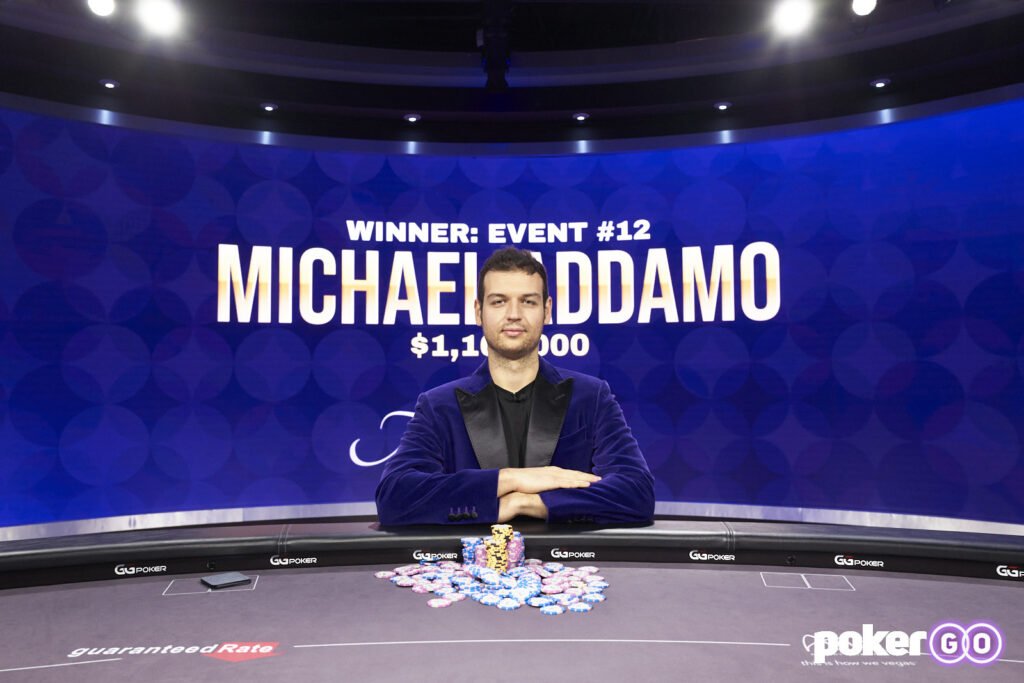 Michael Addamo Wins Final Poker Masters Event for $1,160,000 and Purple Jacket