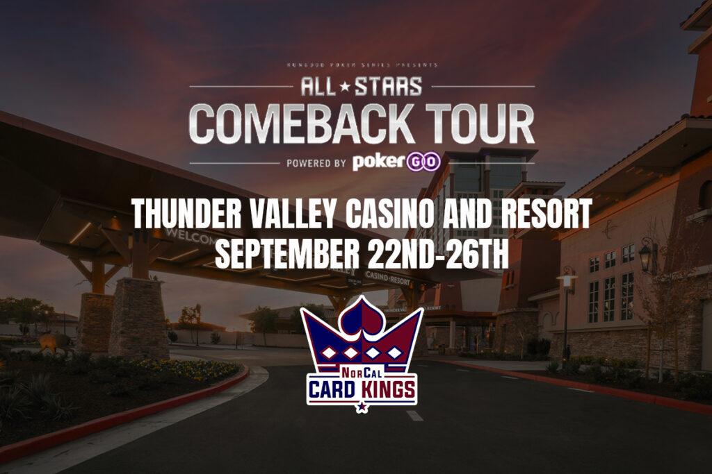 RunGood Poker Series Thunder Valley: September 22-26
