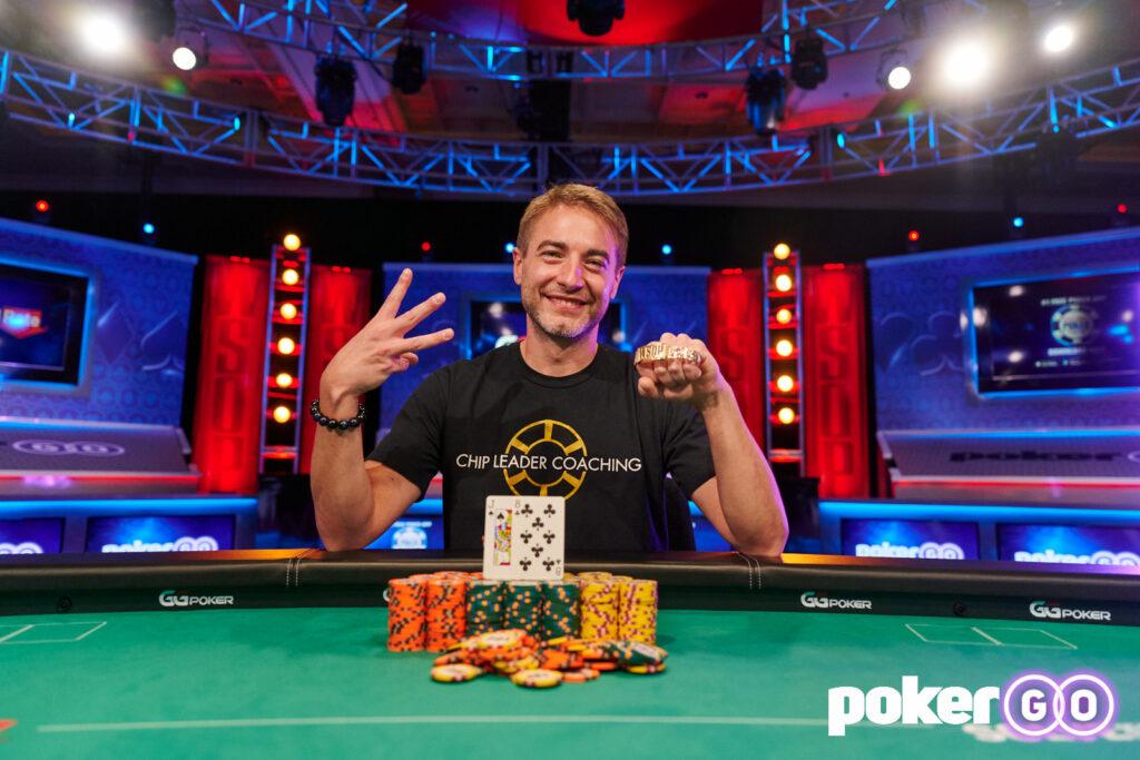 Chance Kornuth Wins 2021 WSOP $10,000 Short Deck for Third Career Gold Bracelet