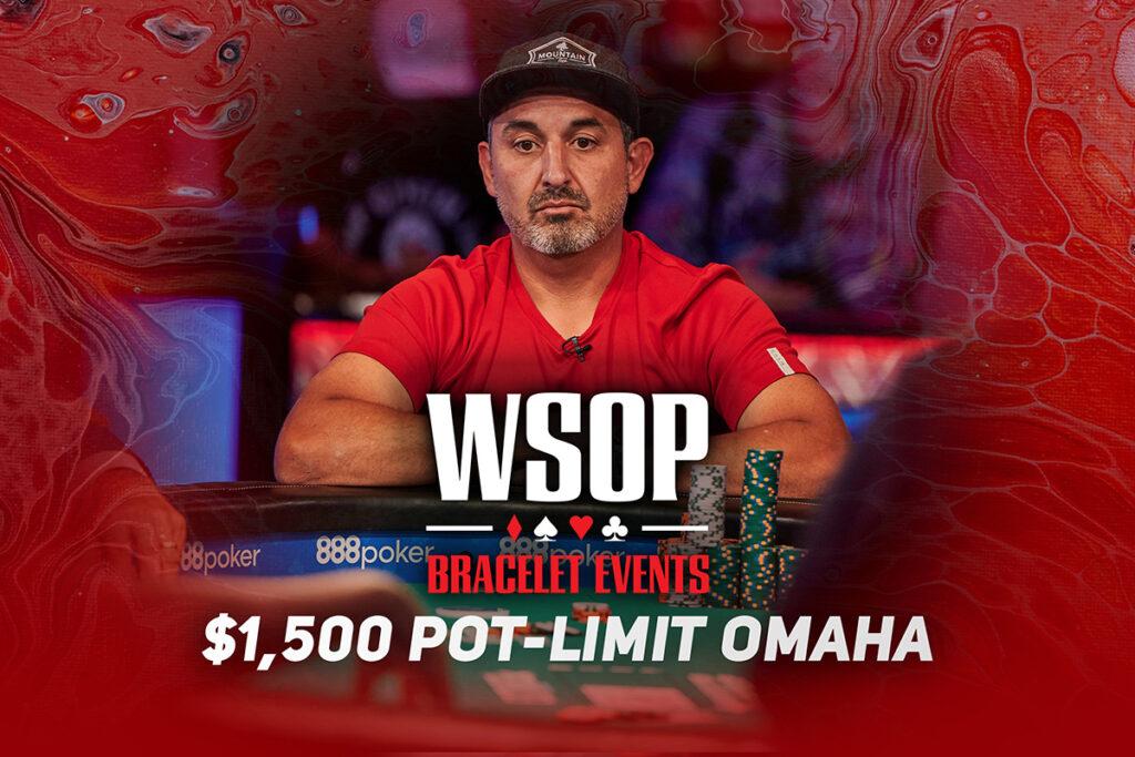 Watch the WSOP Event #39: $1.5K Pot-Limit Omaha Final Table on PokerGO.com at 8 p.m. ET