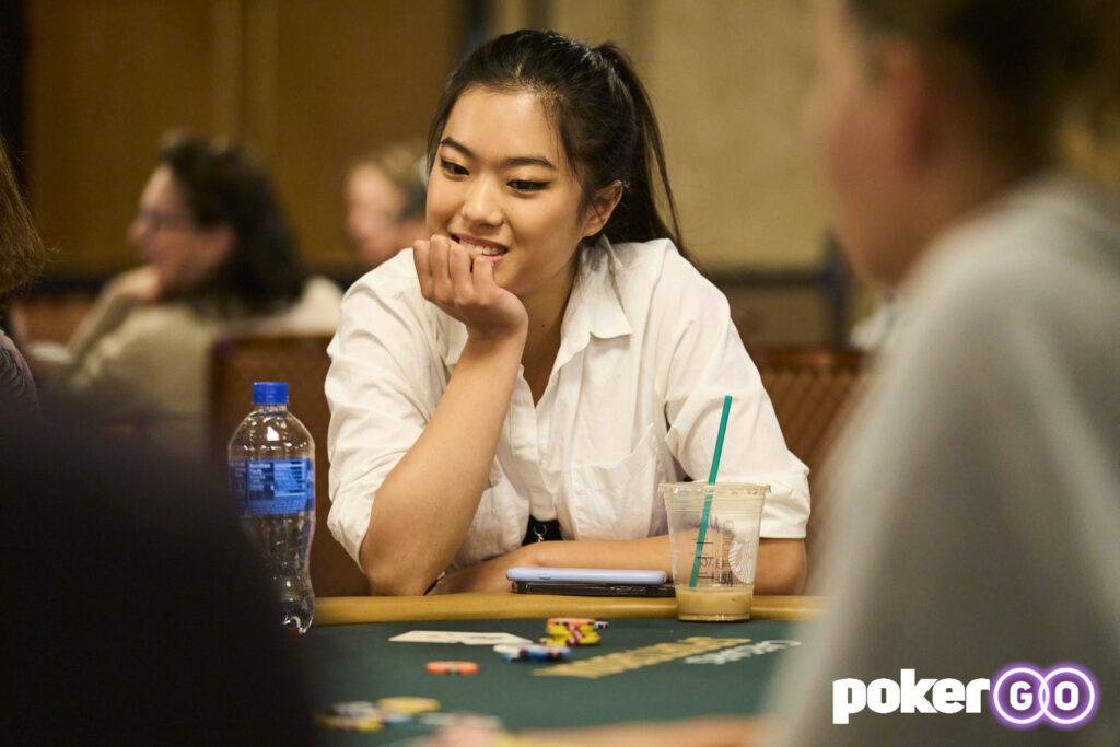 Aces Cracked Ends WSOP Debut for Woman Grandmaster Qiyu 'Nemo' Zhou