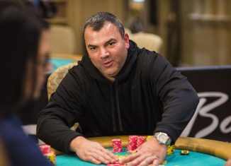 Dave Farah leads the charge at the WPT Borgata Winter Open final table on PokerGO. (Photo courtesy of the WPT)