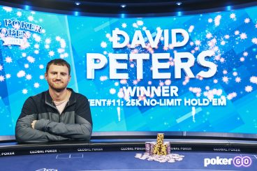 David Peters Crushes $25k Final Table for Third U.S. Poker Open Win & Commanding Series Lead