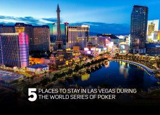 Here are the top 5 places to stay in Las Vegas during the 2019 World Series of Poker.