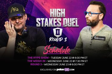 Round 3 of High Stakes Duel II Schedule - 3 Different Shows Over 2 Nights