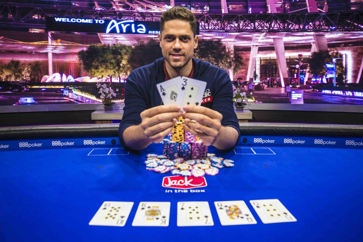 Benjamin Pollak wins Event #6 of the 2018 US Poker Open.