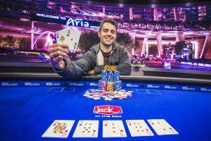 Ben Tollerene wins Event #5 of the 2018 U.S. Poker Open.