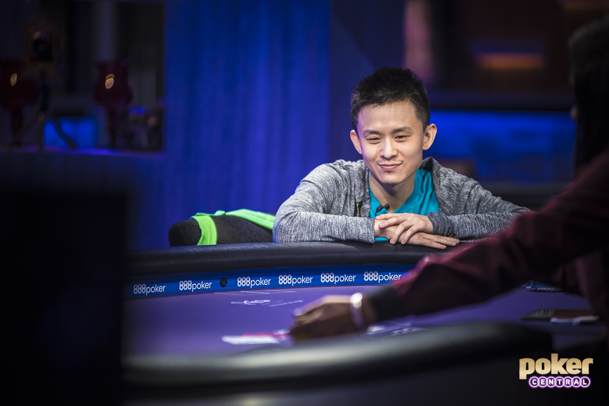Despite finishing 2nd, Ben Yu is still in serious contention to take home the purple jacket as he is currently tied with Imsirovic for 3rd overall in the standings. Yu got the last of his chips in the middle holding ace-six against the fives of Imsirovic, but failed to improve.