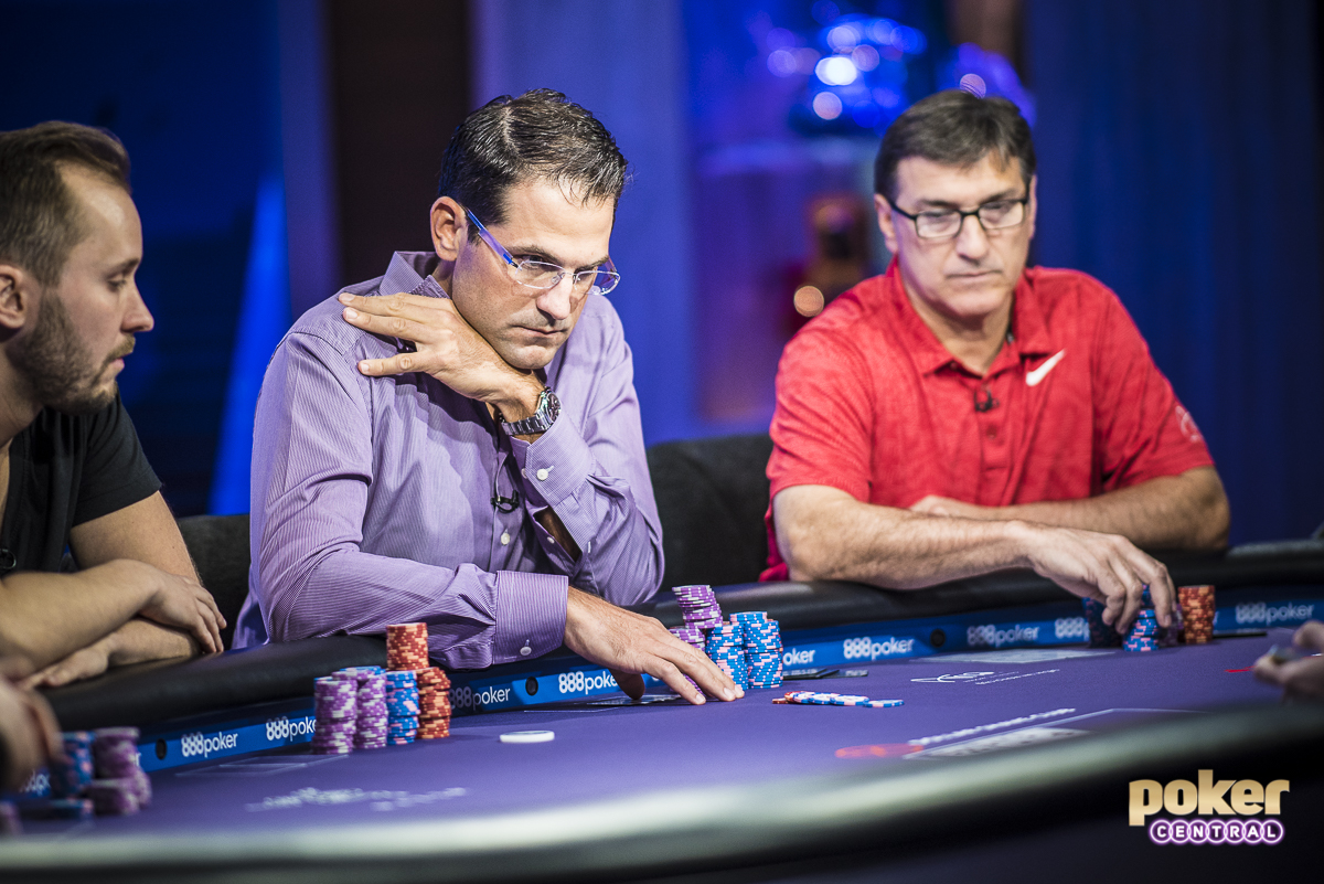 Lieutenant Purple: All eyes are on Brandon Adams this week after starting off the series with three straight final table appearances. Despite chipping up earlier in the day at the final table of the $25,000 Pot Limit Omaha, Adams would eventually hit the rail in 5th, extending his Purple Jacket race lead.