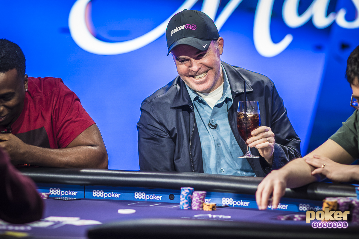 It's been quite the year for Cary Katz already, gathering over $4.9 Million in earnings since January. This is Katz's second Short Deck final table in the last two months, and he was all smiles as he went on to finish in 5th place, adding another $44,000 to the resume. Katz's third cash at the 2018 Poker Masters puts him in firm contention for the Purple Jacket with two remaining events.