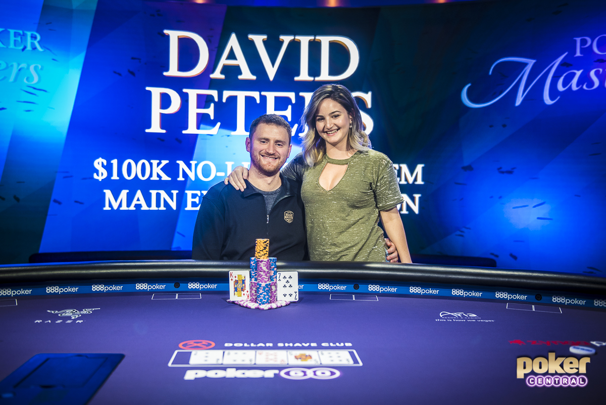 The 2018 Poker Masters has officially come to a close with the completion of the $100k Main Event. David Peters came out on top after a grueling final day, eventually defeating Dan Smith heads up to take home the title. Despite not being able to catch Ali Imsirovic in the race for the purple jacket, Peters did come out on top as the overall most money earned throughout the series.