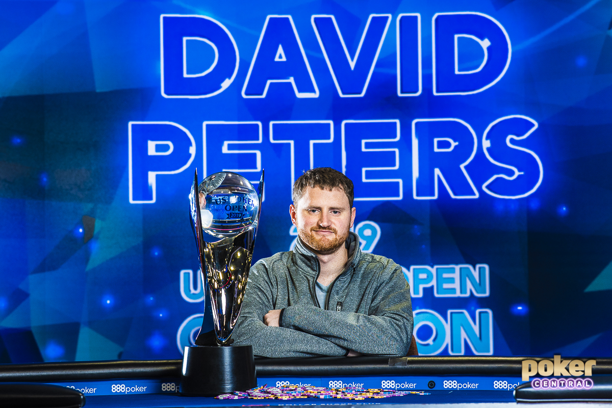David Peters wins the 2019 U.S. Poker Open Main Event and U.S. Poker Open Championship Title!