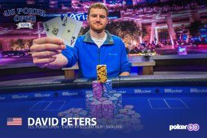 David Peters wins Event #6 of the 2018 U.S. Poker Open.