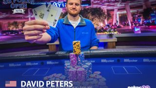 David Peters wins Event #6 of the 2018 U.S. Poker Open.